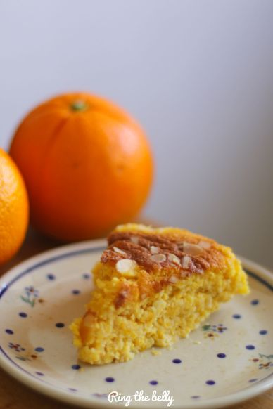 ciasto migdalowo pomaranczowe