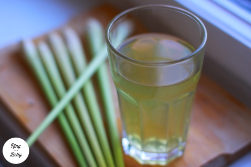 napoj z trawy cytrynowej poziom logo